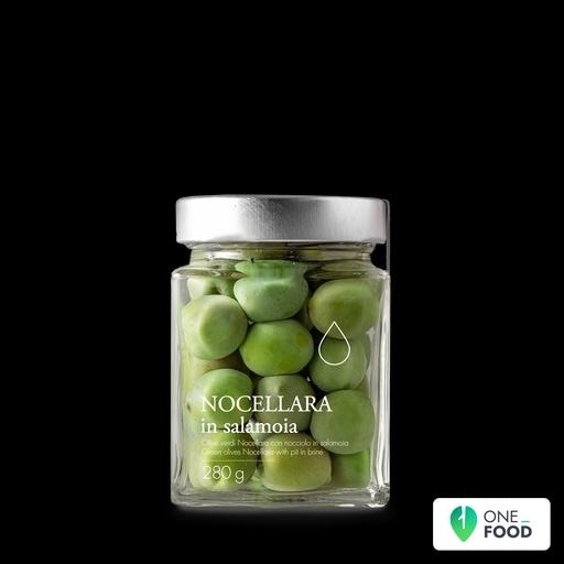 Green Nocellara Olives In Brine
